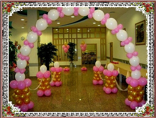 decorations de salles de mariage en ballons d coration ari ge. Black Bedroom Furniture Sets. Home Design Ideas